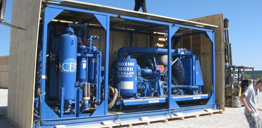 Blue miscellaneous gas equipment